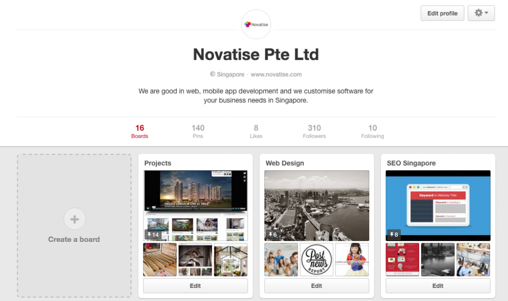 novatise pinterest